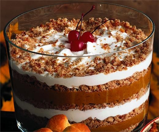 Pumpkin Trifle: Christine Heusinger made it twice during Thanksgiving ...