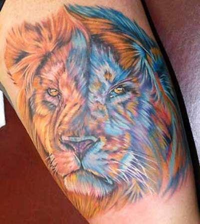 Tatuajes de leon