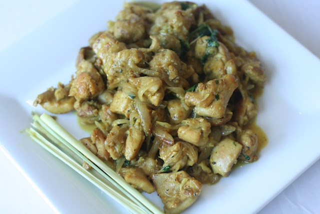 Week of Menus: Lemongrass Chicken Stir Fry: Learning to accept change