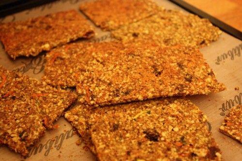 raw cinnamon raisin carrot bread | Dinners | Pinterest