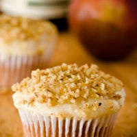 Riesling Cupcakes with Pear Mascarpone Frosting by Cupcake Project