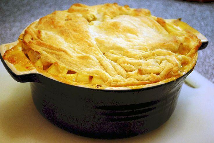 Vegan Spring Vegetable Pot Pie | Food | Pinterest