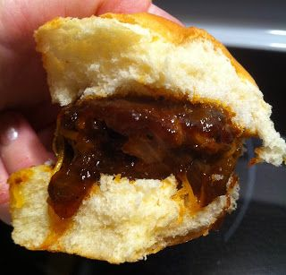 Whiskey BBQ Sliders | Food for Thought | Pinterest