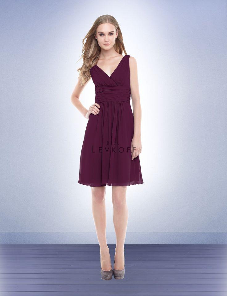 Bridesmaid Dress Style 154 Bill Levkoff / Sangria