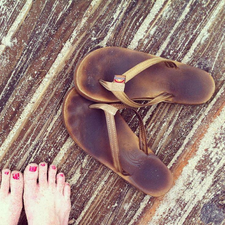 On the boardwalk | Women's Rainbow Sandals | Pinterest Sandals