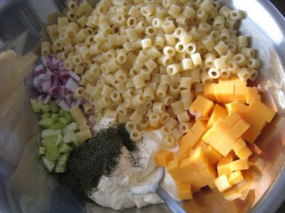 macaroni salad mom s macaroni salad recipe box tuna macaroni salad ...