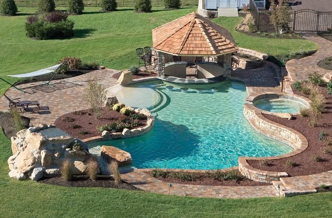 Cool Backyard Images : backyardpools  Dream home  Pinterest