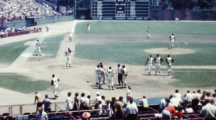 Forbes Field - Pittsburgh ( 1961 ) | classic ballparks and ...