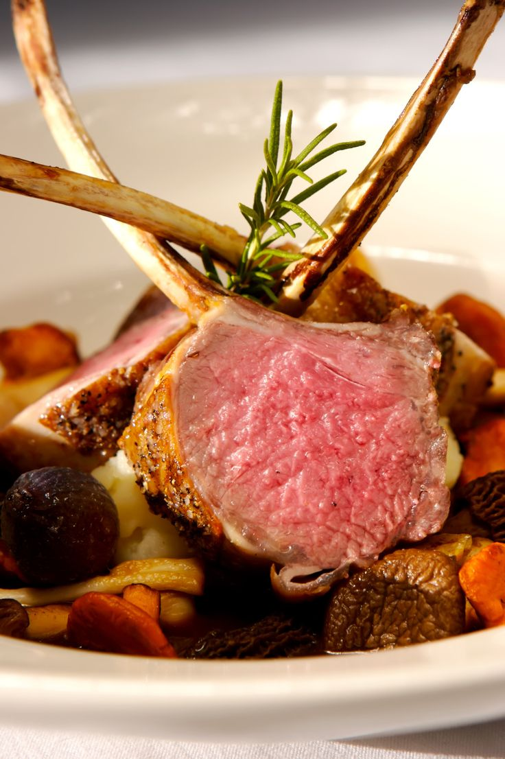 Rack of lamb | Delicious Food | Pinterest