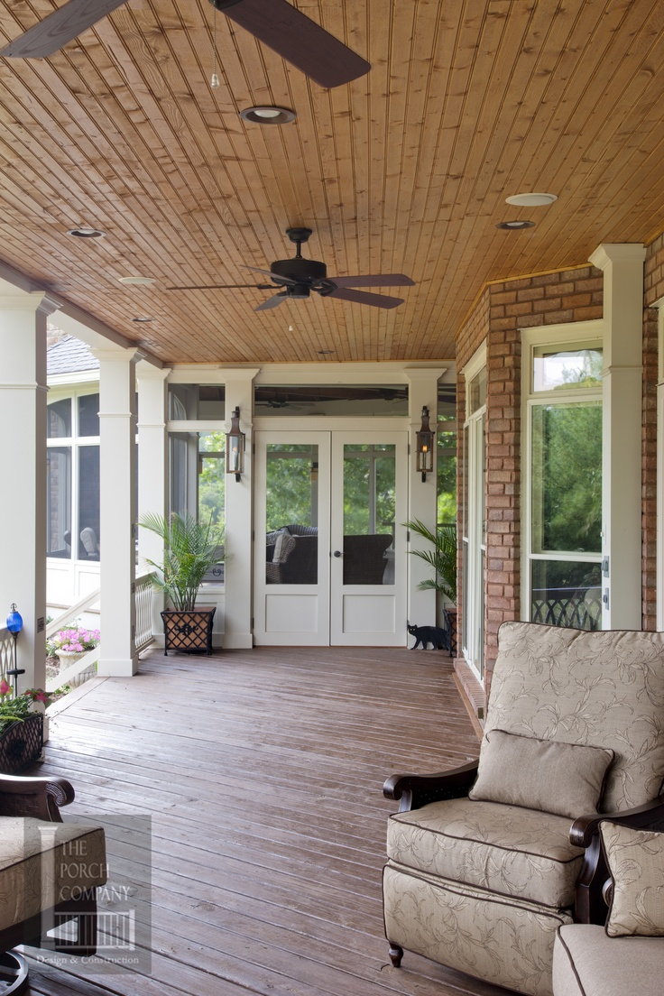 Open porch in brentwood tn by porch co great outdoors Open porches