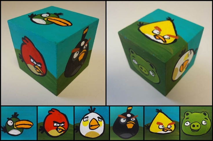Angry bird block just for fun pinterest