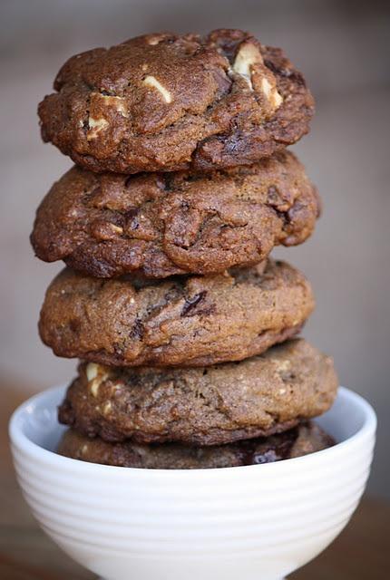 Triple Chocolate Chunk Cookies | I love chocolate xx | Pinterest