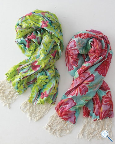 Lilly Pulizter scarves