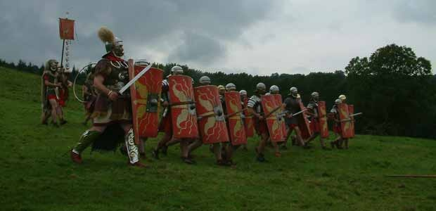 the roman invasion of britain in 55 bc essay Around 2,000 years ago, britain was ruled by tribes of people called the celts but this was about to change for around a century, the roman army had been building an empire across europe now it .