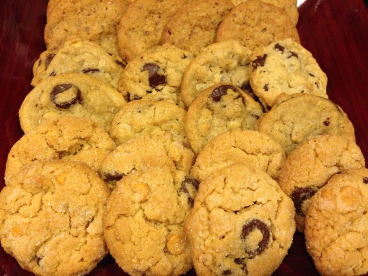 Oatmeal Cookies Pecans Chocolate Chip