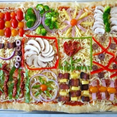 "Quilt Pizza {Kids DInner Party} | All Things ""Tip Junkie"" 