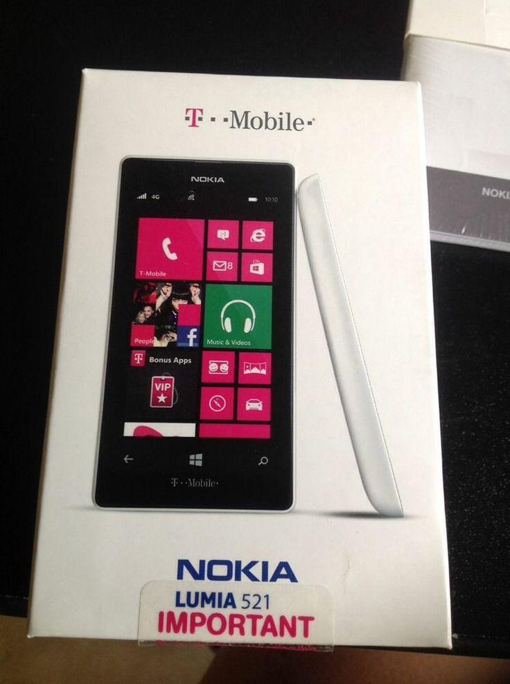 Nokia Lumia 521 - 8GB - White  T-Mobile  Smartphone  1Nokia Lumia 521 White