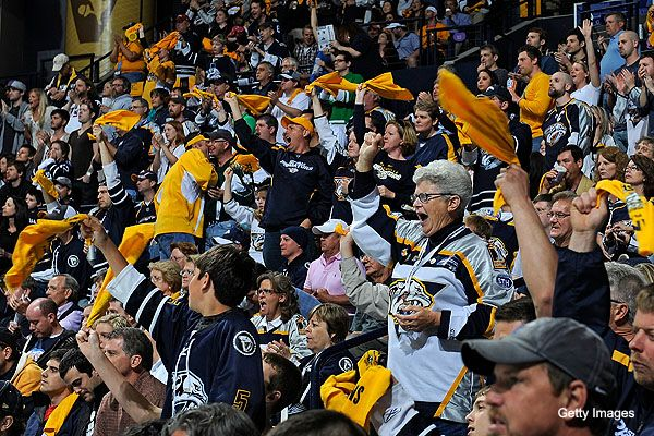 Nashville Predators Fans #1 | Nashville Predators | Pinterest