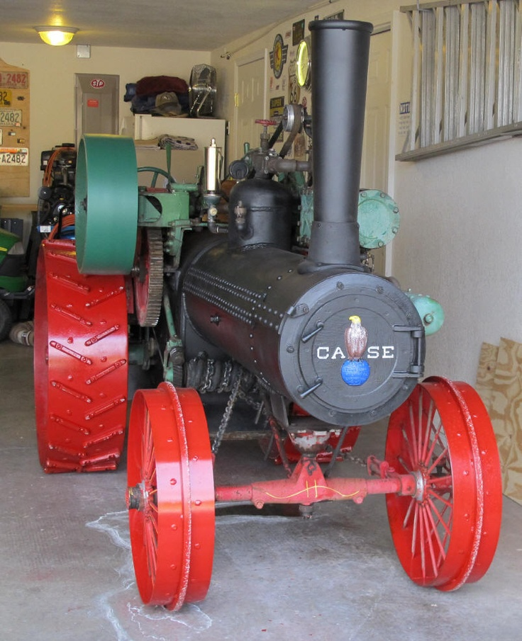 Case Steam Traction Engines For Sale