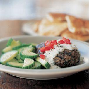 Moroccan Lamb Burgers | food | Pinterest