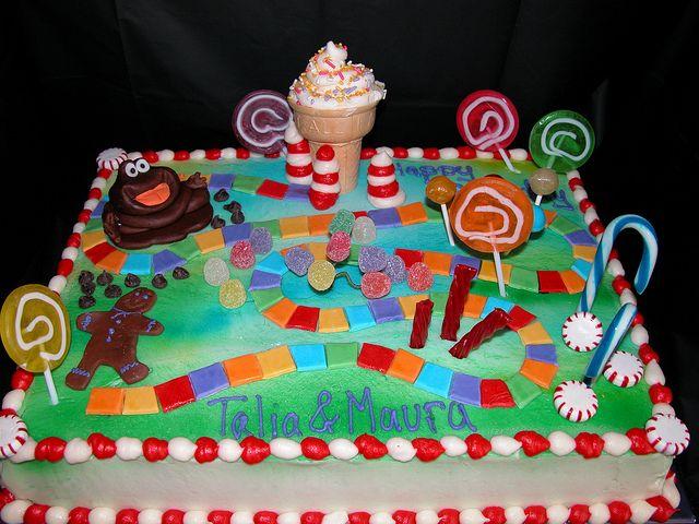 Candy Land Cake Birthday Party Ideas Pinterest