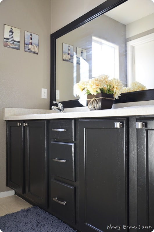 Pin by leah fanning on home is where the heart is pinterest for Semi gloss or satin for bathroom