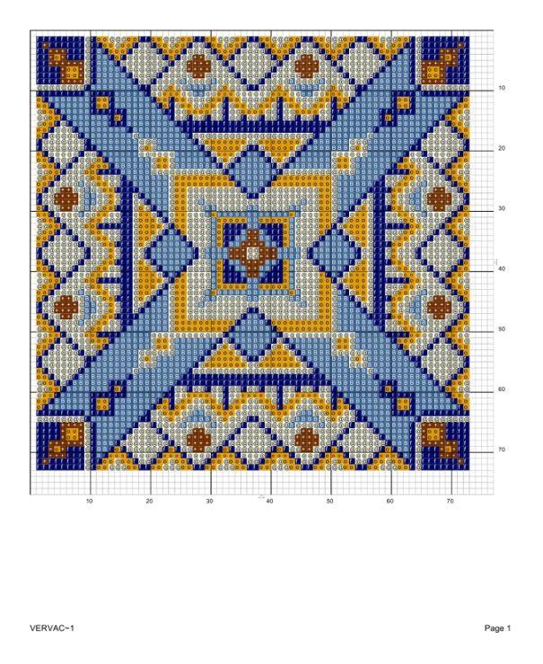 Вышивка крестом на подушках схемы 24