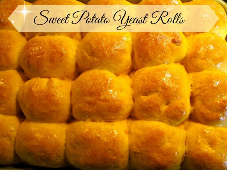 Sweet potato yeast rolls - Super delicious and yummy.