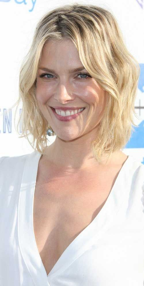 Layered, Short Wavy Haircuts, Ali Larter Hair picture