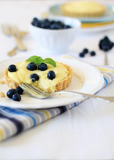 Almond custard tarts | treats | Pinterest
