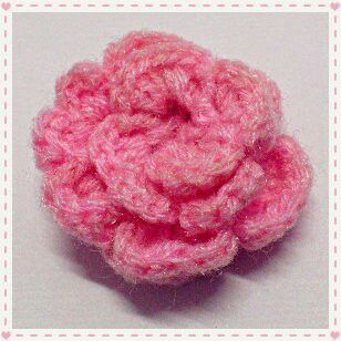 Crochet Flowers Patterns Youtube : Crochet flower - pattern from YouTube crochet flowers, bows, etc ...
