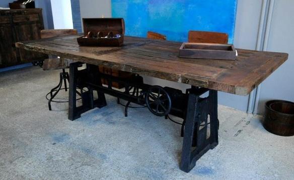 Tisch rustikal  Living room * Wohnzimmer  Pinterest