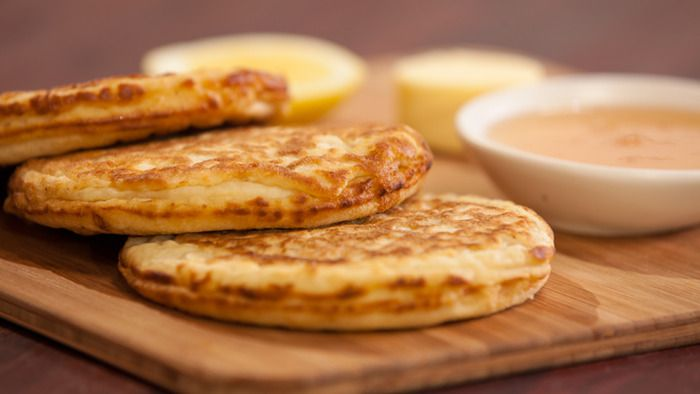 Crumpets - from Everyday Gourmet. I love having crumpets for breakfast ...
