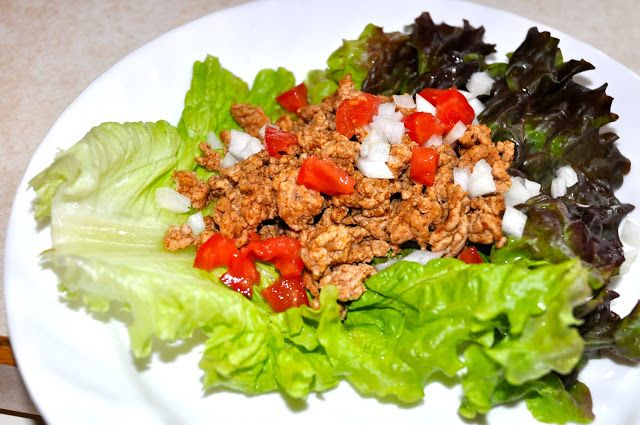 Lettuce Wrapped Turkey Tacos | For Your Health/Food | Pinterest