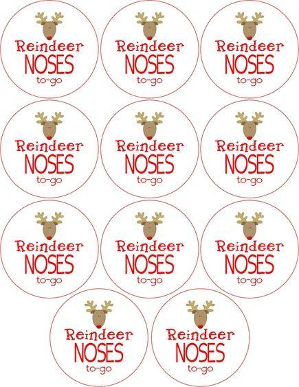 Reindeer Food Printables