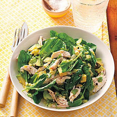 Chicken and Avocado Salad with Wasabi-Lime Dressing! #specialsalad # ...