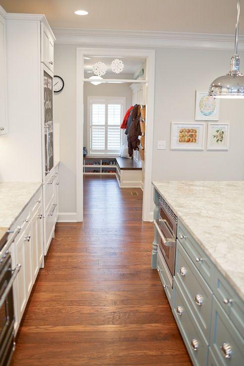 Benjamin Moore Wickham Gray Home Colors Pinterest
