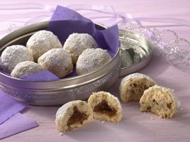 Mexican wedding cookies- sweet and buttery.