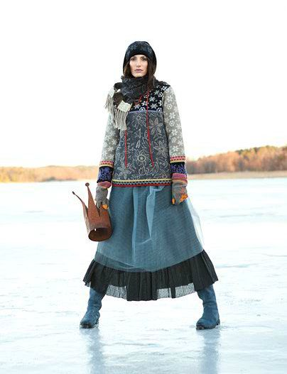 Nordic Thoughts: Gudrun Sjöden - Winter Collection 2012