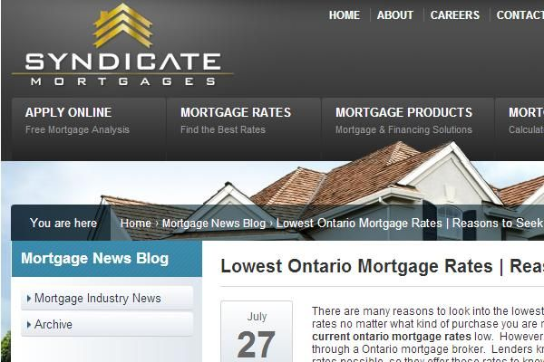 mortgage rates ontario 2 year fixed