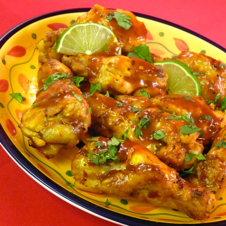 Sweet Chipotle Chili Lime Chicken Wings - tired of buffalo-style wings ...