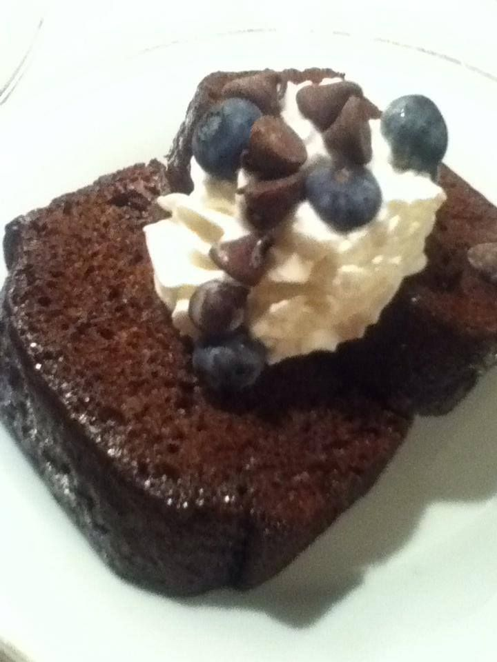 Double Chocolate Chip Coffee Loaf Cake | T's Desserts | Pinterest
