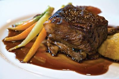 Perfect cold weather cooking: Pomegranate Braised Short Ribs recipe ...
