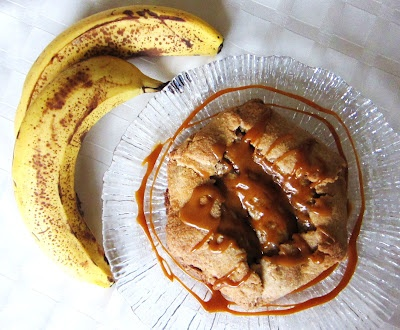 Banana Peanut Butter Galettes
