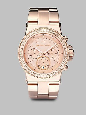 MK rose gold -  the perfect pink accessory