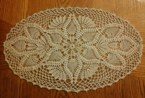 Crochet Patterns Oval Shape : Beaded Oval Dolie Free Crochet Pattern - Donnas Crochet