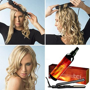 how-to-curl-your-hair-with-straightener | Appetizers, Dips & Party Fo