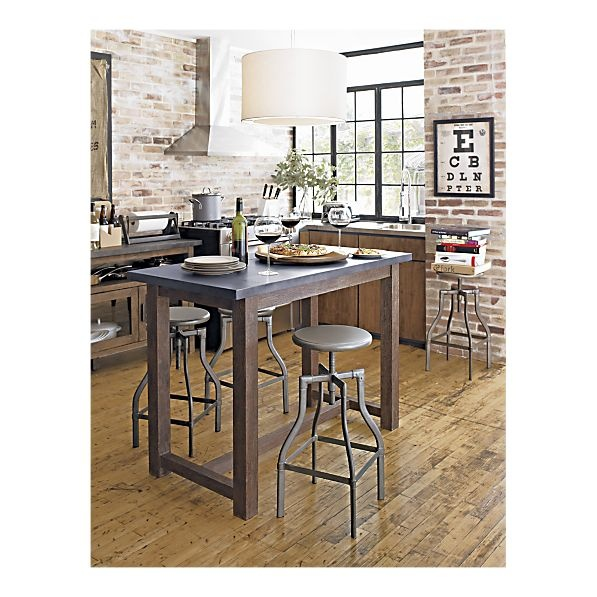 District High Dining Table In Dining Tables Kitchen Table And Island