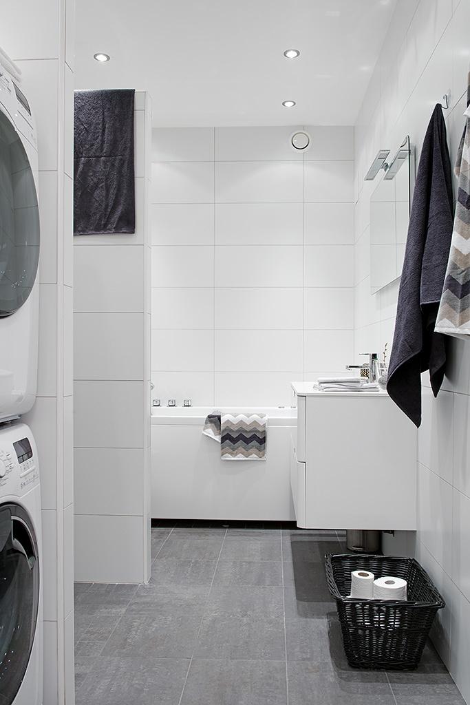 bathroom white grey ~ interiors design