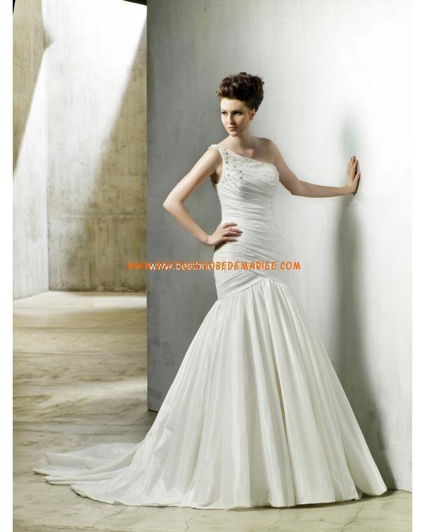 Robe de mariée 2012 drape asymétrique  Robe de mariée  Pinterest